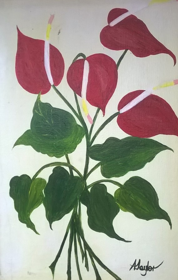 A Taylor, Red Flower