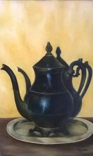 A Thompson, Teapot