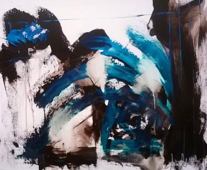 Arlene Rose, Blue Abstract