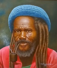 Cunningham, Rasta with Pipe
