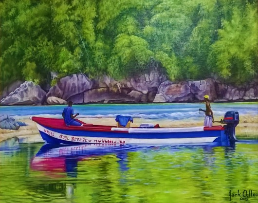 Jack Allen, Men in Boat