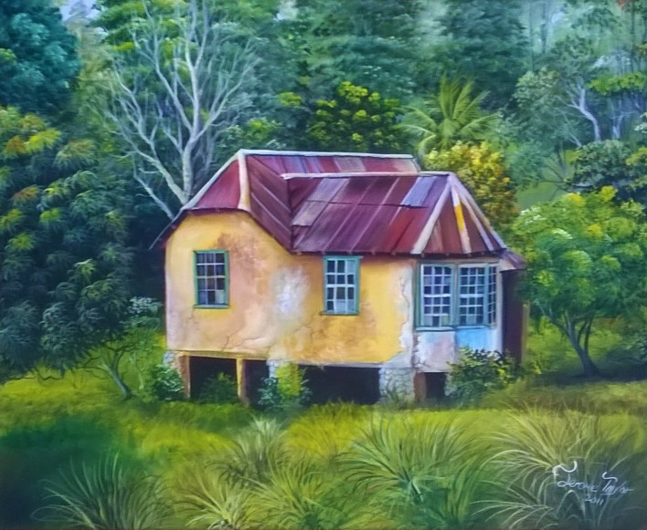 Jerome Taylor 2011, House in Country