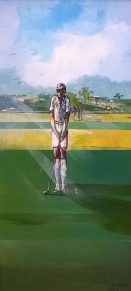 Richard Hall, Golf